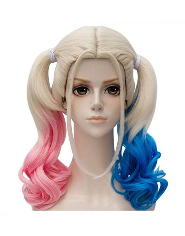 Harley Quinn Wig Long Hair Wigs