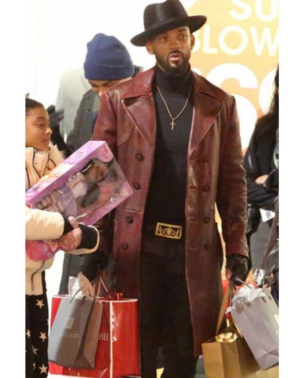 will smith leather coat