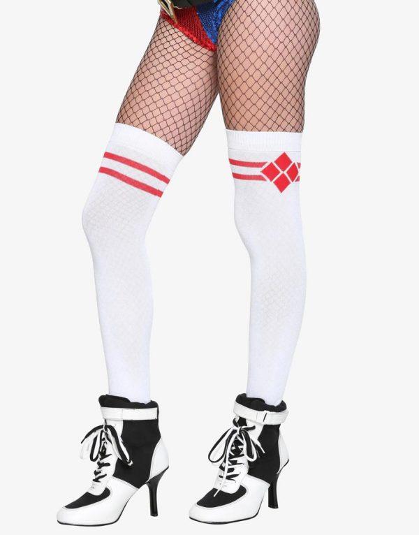 suicide squad harley quinn knee socks