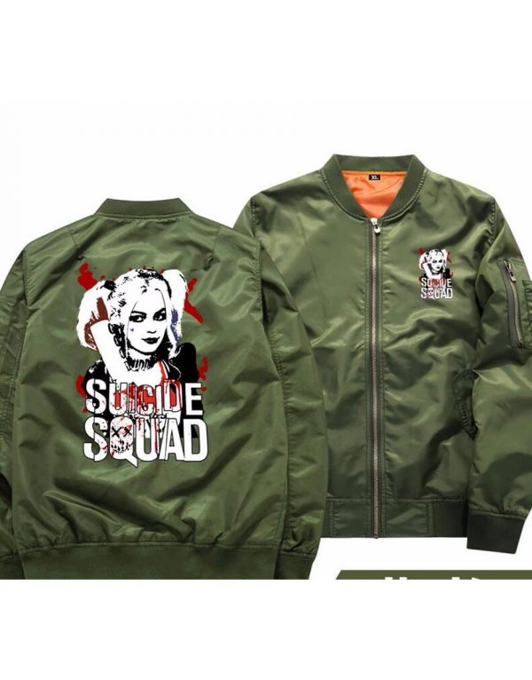 Suicide Squad New Harley Quinn Bomber Jacket