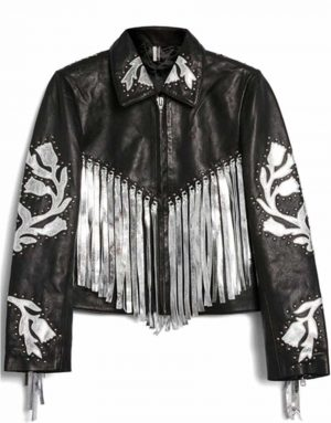 harley-quinn-bird-of-prey-fringe-leather-jacket