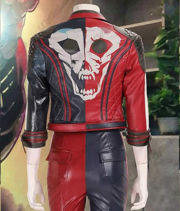 suicide-squad-kill-the-justice-league-harley-quinn-red-and-blue-leather-jacket